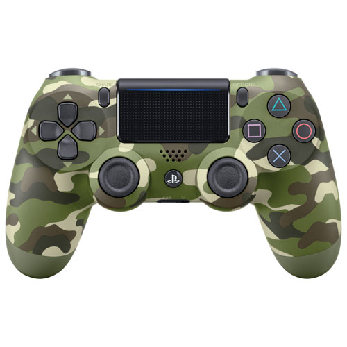 Геймпад Sony Dualshock 4 (ver.2) Green Camouflage (PS4) CUH-ZCT2E