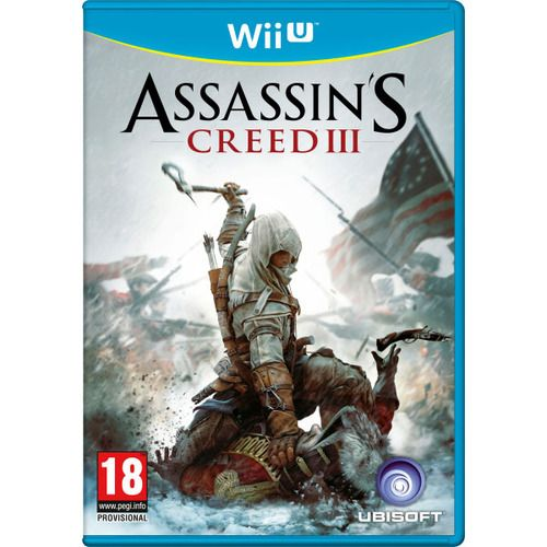 Игра Assassin's Creed III (Nintendo WII U)