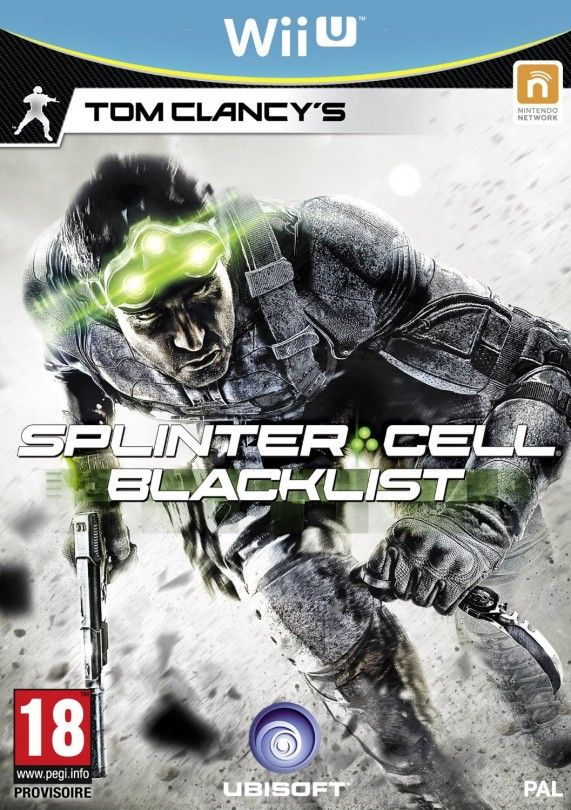 Игра Tom Clancy's Splinter Cell Blacklist (Nintendo WII U)