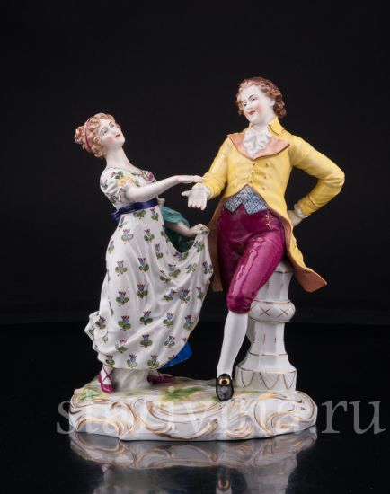 Изображение Танцующая пара, Muller & Co, Volkstedt, Германия, нач. 20 в