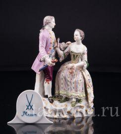 Пара, Маскарад, Meissen, Германия, 19 в., артикул 03192