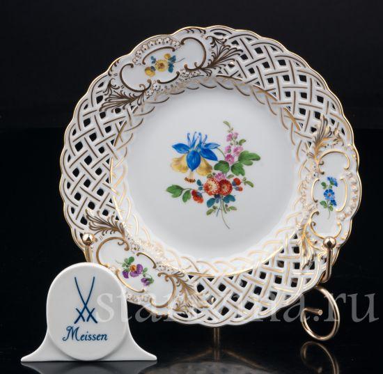 Тарелка производства Meissen, Германия