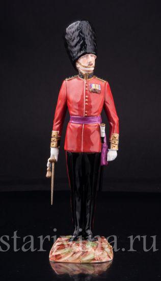 Капитан шотландской гвардии, Potschappel, Германия, сер. 20 в.
