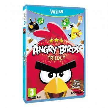 Игра Angry Birds Trilogy (Nintendo WII U)
