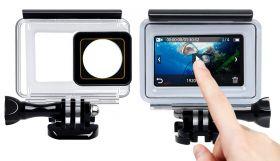 Аквабокс для экшн-камеры Xiaomi Yi 4K (touch screen)