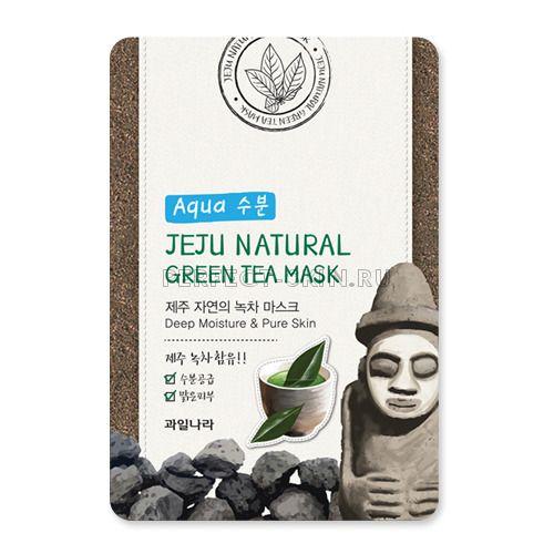 Welcos Jeju Nature's Green Tea Mask 20ml