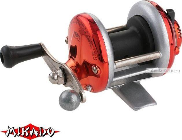 Катушка мультипликаторная Mikado MINITROLL MT 1000 цвет: красный