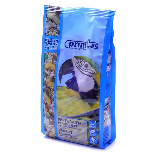 Корм Benelux Mixture for parrots Primus Примус Премиум для попугаев 800гр