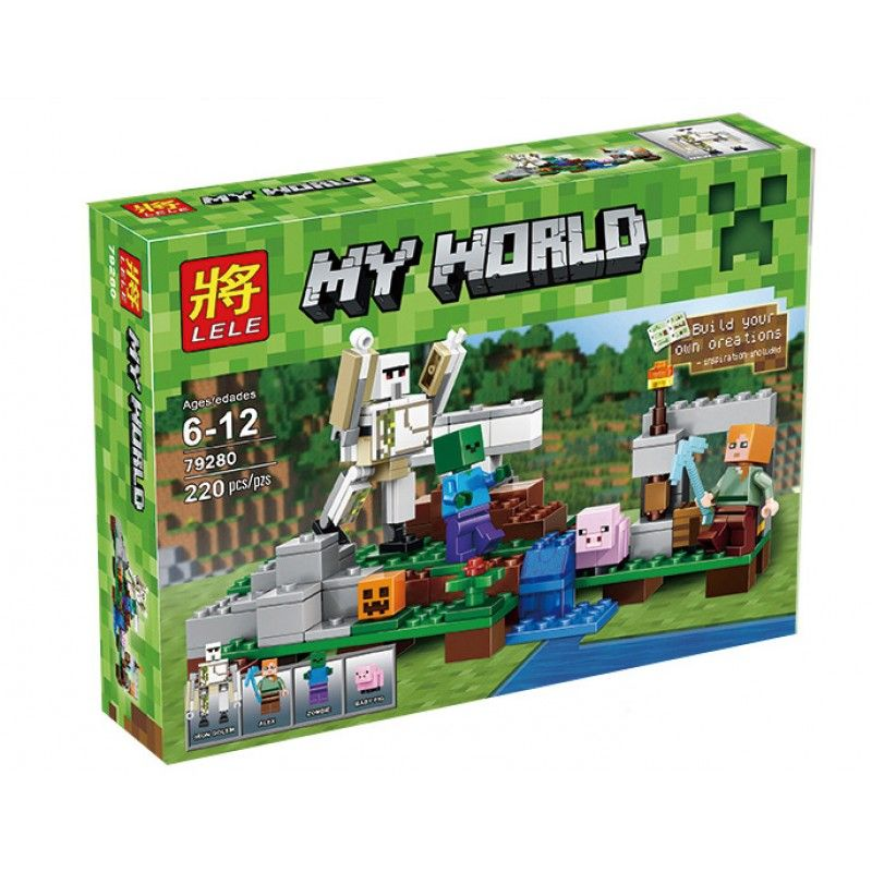 """Lele My World """"Железный голем"""" 220 деталей NO.79280"""