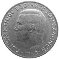 Греция 10 драхм 1968 г.