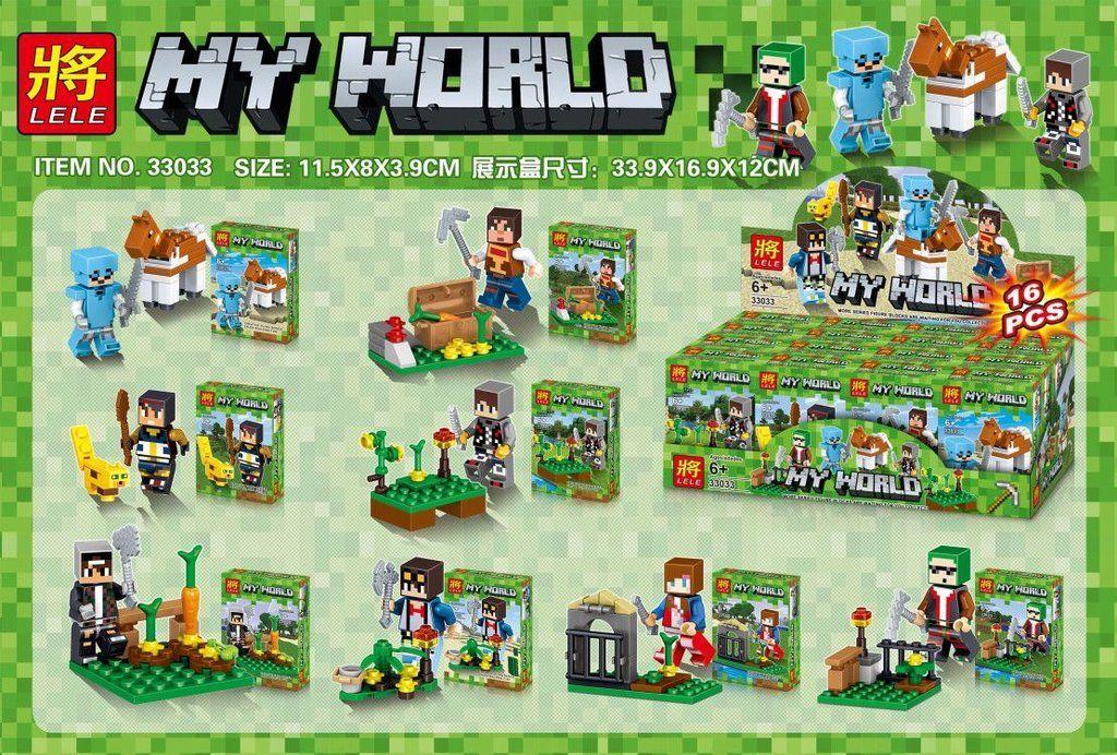 """Lele My World""""Набор из 16 конструкторов"""" No.33033"""