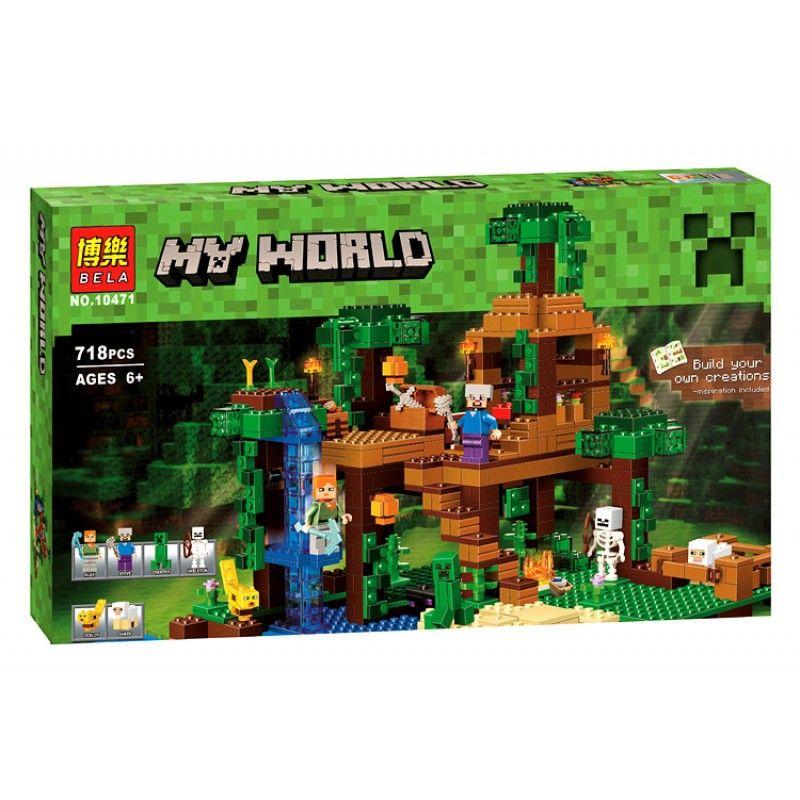 """Lele My World""""Домик на дереве в джунглях"""" 569 деталей NO.79282"""