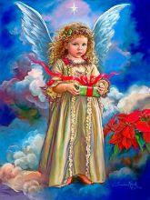 Ангелок с подарком