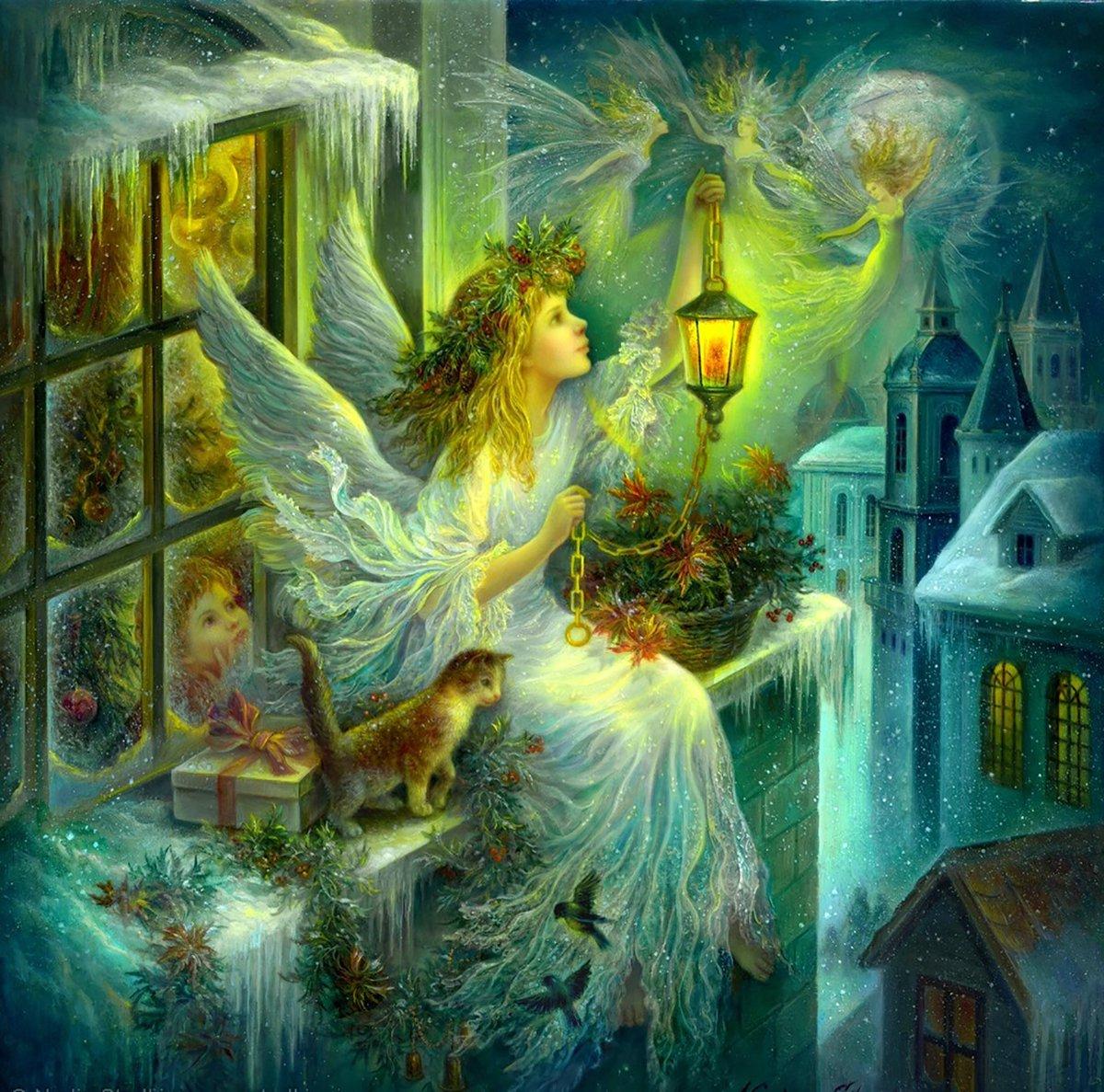 открытки рождество волшебство рождества вариант всегда