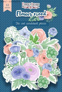 """Набор высечек, коллекция """"Flower mood"""" FD"""