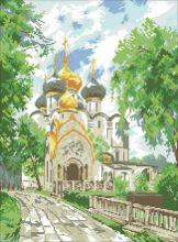СЛ-3012. Монастырь. А3+ (набор 2500 рублей) Миледи