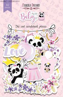 "Набор высечек, коллекция ""My little baby girl"" FD"