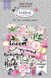 """Набор высечек, коллекция """"Wedding of our dream FD"""