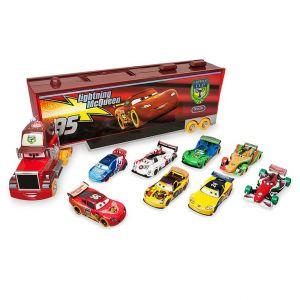 Игровой набор «Говорящий Мак с трейлером и 8 гонщиков» Тачки, Дисней