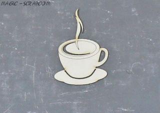 """Чипборд """"Чашка кофе"""""""