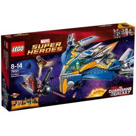 LEGO Super Heroes 76021 Спасение космического корабля Милано