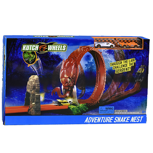 Гоночный трек HOT WHEELS Adventure Snake Nest