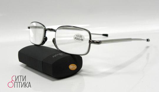 Складные очки с диоптриями  в футляре Glodiatr G108