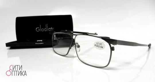 Складные очки с диоптриями  в футляре Glodiatr G115 C3