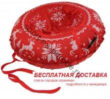 """Санки-ватрушка (тюбинг) """"Новогодний Олень 110"""" с камерой"""