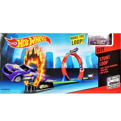 Игровой трек HOT WHEELS Make The Loop
