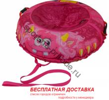"""Санки-ватрушка (тюбинг) """"Монстрик Пинки 95"""" с камерой"""