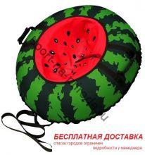 """Санки-ватрушка (тюбинг) """"Арбуз 110"""" с камерой"""