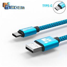 Tiegem USB кабель для зарядки для USB- TYPE-C 120см с/п до 480 Мbs