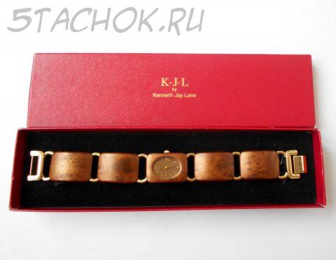 Часы от KJL ( Kenneth Jay Lane) США-Китай