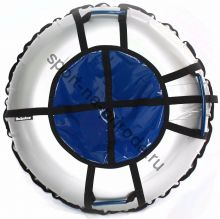 Тюбинг Hubster Ринг Pro серый-синий 120 см