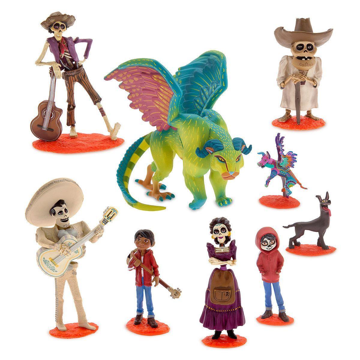 Игровой набор из 9 фигурок Тайна Коко Дисней