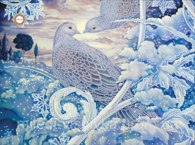Снежная Любовь. А3 (набор 850 рублей) Миледи СЛ-3276