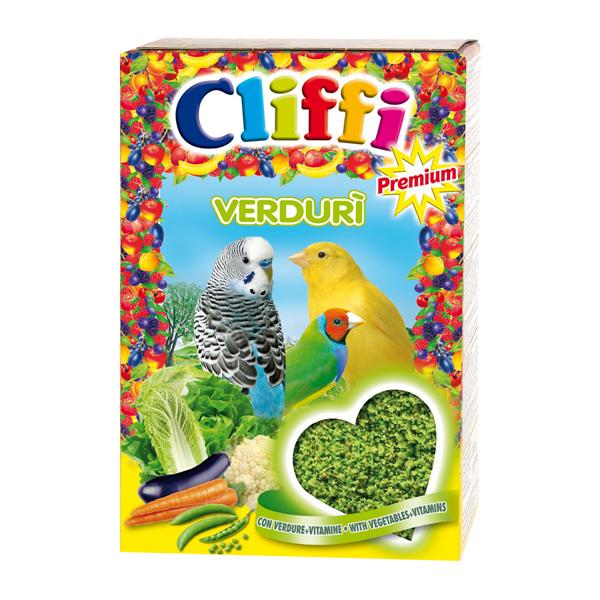 Корм Cliffi Verduri Яичный с овощами 300гр для всех зерноядных птиц