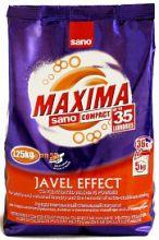Sano Maxima Javel Effect концентрированный стиральный порошок 35 стирок 1,25 кг