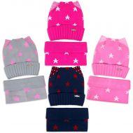 Комплект  для девочки 6-12 лет( шапка на флисе, снуд) №SG110А