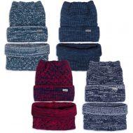 Комплект  для девочки 6-12 лет( шапка на флисе, снуд) №SG111А