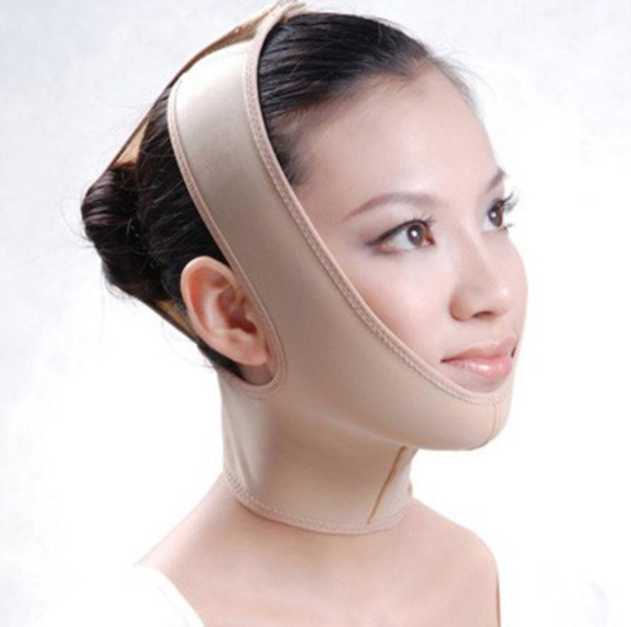 Укрепляющая маска для коррекции и подтяжки овала лица