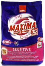 Sano Maxima Sensitive концентрированный стиральный порошок 35 стирок 1,25 кг