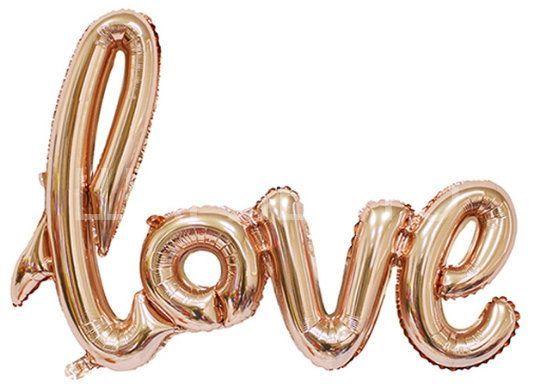 """Шар фигура """"Love"""""""
