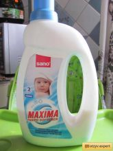 Sano Maxima Смягчитель для белья Baby алоэ вера 5 в 1: аромат, нейтрализация запаха, мягкость, антистатик, лёгкая глажка 2 л
