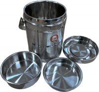 Термос Qiaoxin с контейнерами для еды в разборе