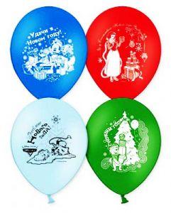 Набор шаров С новым годом ! (Дисней, 50шт)