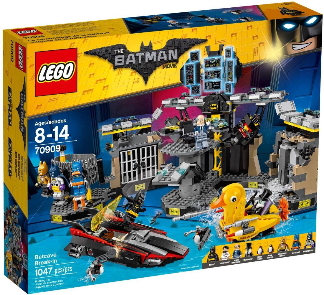 Нападение на Бэтпещеру. Конструктор ЛЕГО Бэтмен 70909
