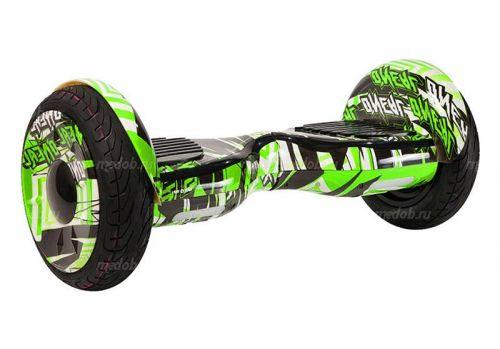 Гироскутер Smart Balance PRO PREMIUM 10.5 V1 (+AUTOBALANCE, + TAO TAO MOBILE APP) Граффити зеленый