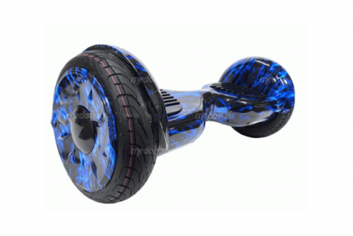 Гироскутер Smart Balance PRO PREMIUM 10.5 V2 + APP + Самобаланс  (Огонь синий)